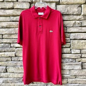 Lacoste Slim Fit Large Polo